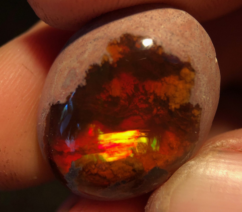 Mexican 28.9ct Matrix (cantera) Opal (OM)
