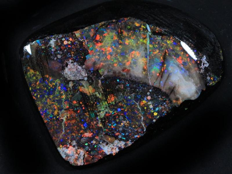 27.30ct  -1#  -  Andamooka Matrix Opal Rough-Treated [22842]