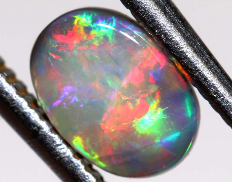 N6-0.25   CTS - DARK  OPAL POLISHED STONE TBO-9669