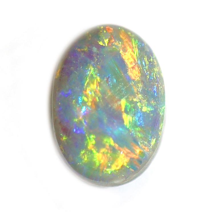 0.8CT  Black Crystal Opal Stone [CS39