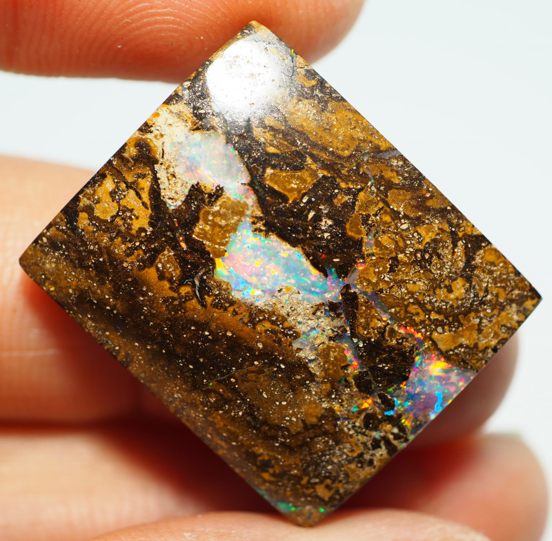 33.90 CT GEM MATRIX YOWAH OPAL WITH AMAZING PATTERN NN526