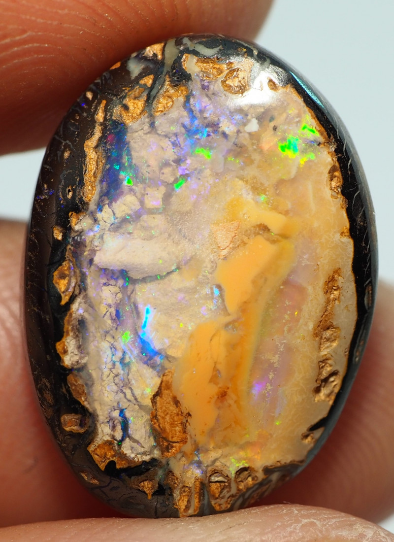 13.25CT YOWAH OPAL WITH AMAZING PATTERN NN530