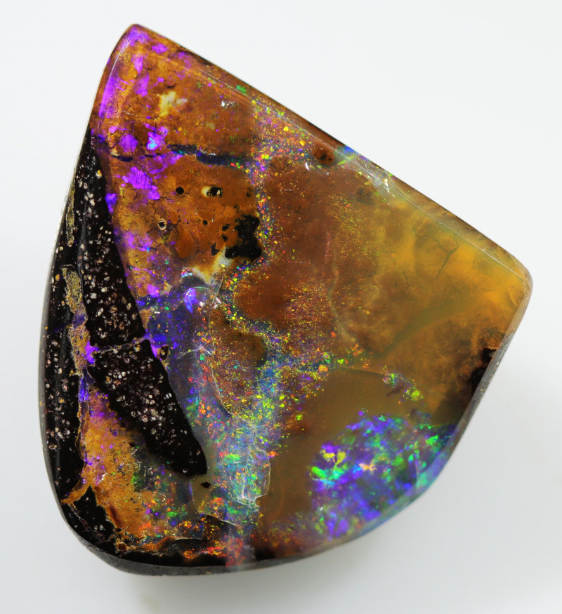 9.70 CTS BOULDER OPAL STONE FROM WINTON  [BMA8009]