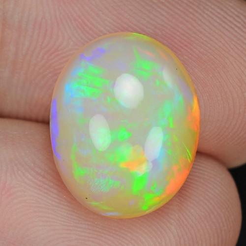 7.42  Cts Very Rare Natural Ethiopian Opal Loose Gemstone
