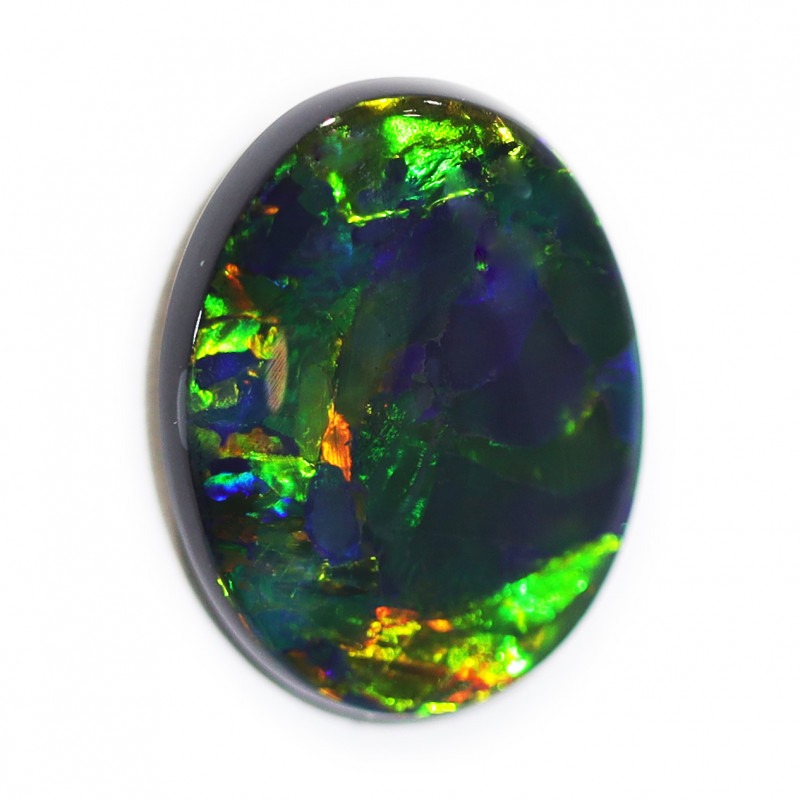 4.63CTS  BLACK OPAL STONE LIGHTNING RIDGE [CS41]