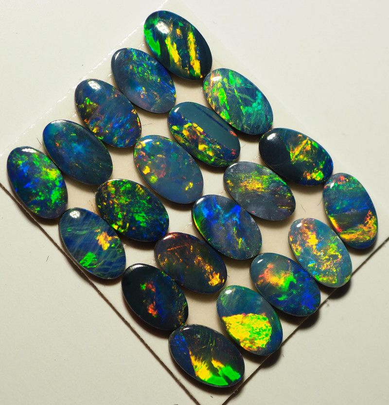 2.63 CTS PARCEL OF CRYSTAL OPALS CALIBRATED NN543
