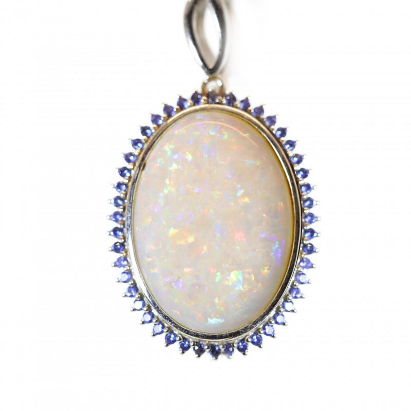 925 ST/ SILVER RHODIUM PLATED COOBER PEDY  PENDANT [CP087]