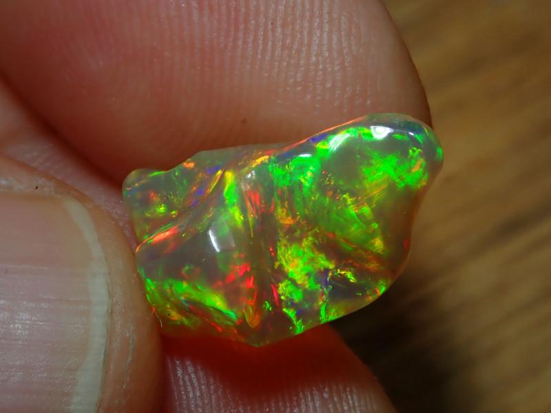 4.01ct Blazing Welo Solid Opal