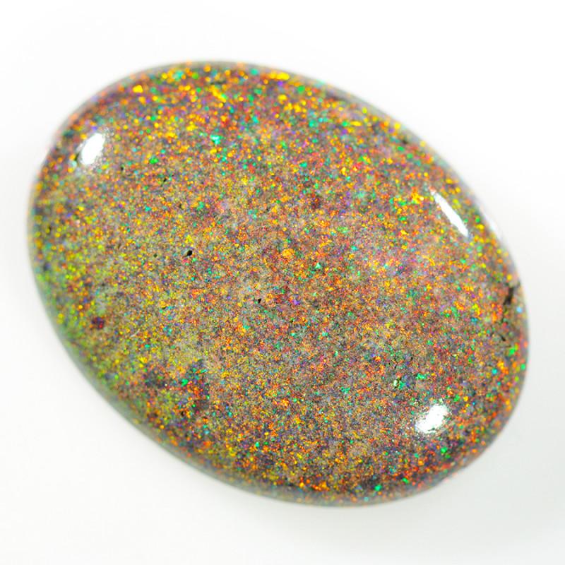16.00 Cts Collectors Andamooka opal cut 80's OPJ 2304