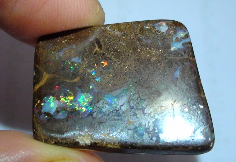 22.15 ct  Beautiful Multi Color Koroit Boulder Opal Matrix