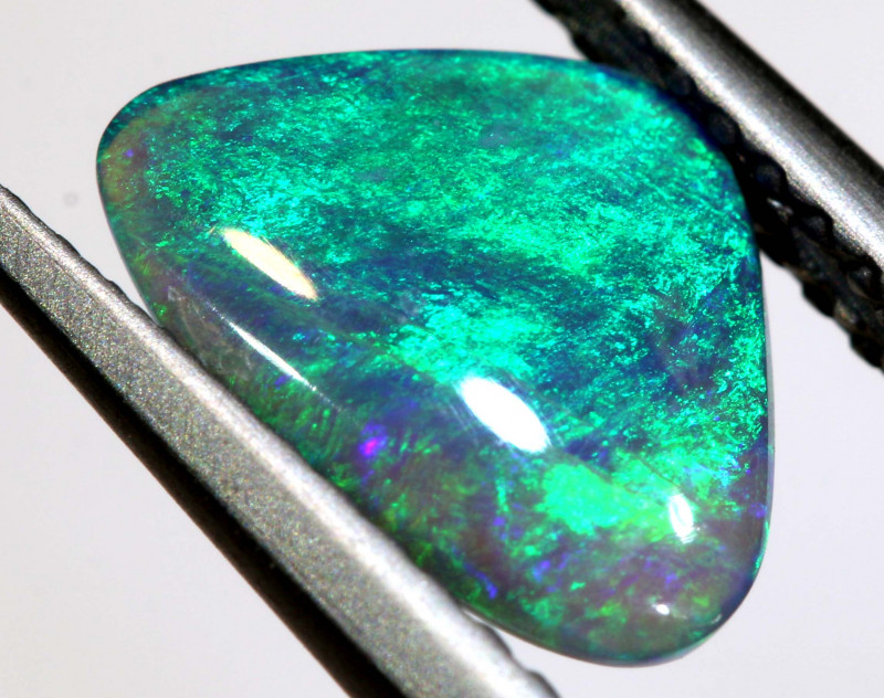 N 4-0.92   -CTS  L.RIDGE BLACK OPAL  POLISHED STONE TBO-9731