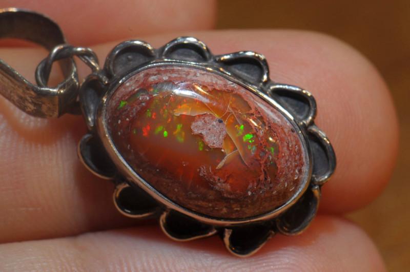 18.20 Blazing Welo Solid Opal
