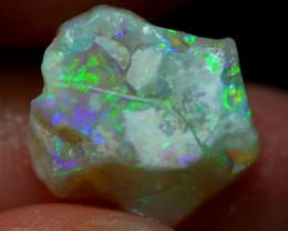 3.85cts Australian Lightning Ridge Opal Rough / 15S36