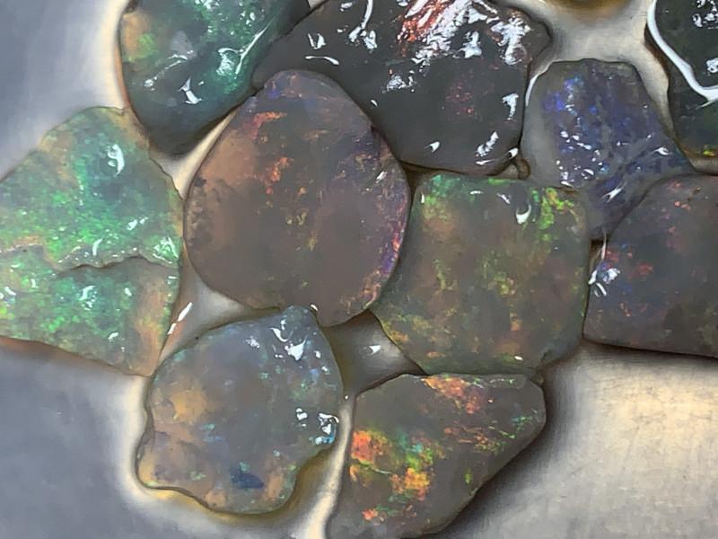 GORGEOUS INLAY MATERIAL; 31 CTs of Beautiful Lightning Ridge Opal, #1109