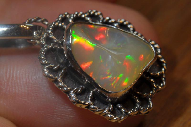 22.19ct Blazing Welo Solid Opal
