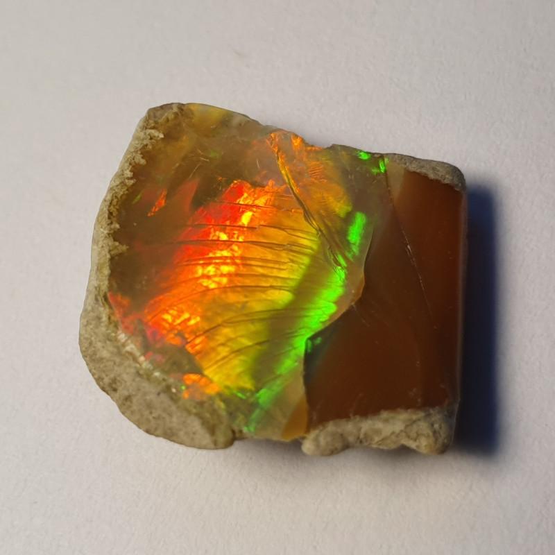 6.5cts Cutting  Rough Ethiopian Wello Opal