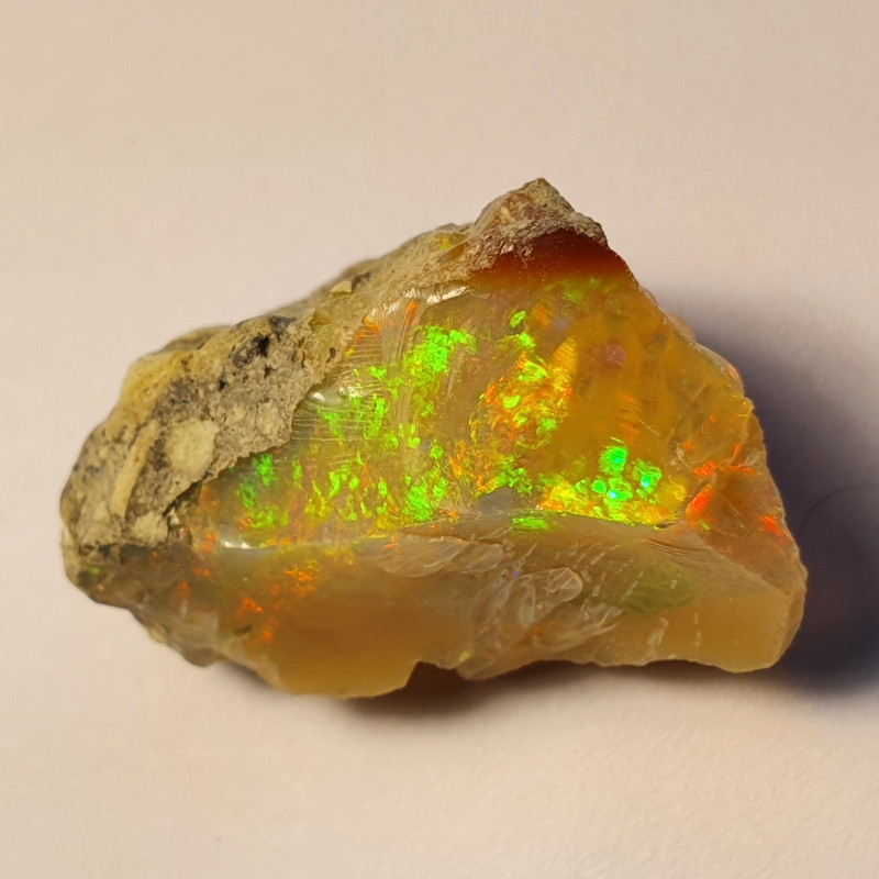 20cts Cutting  Rough Ethiopian Wello Opal Specimen