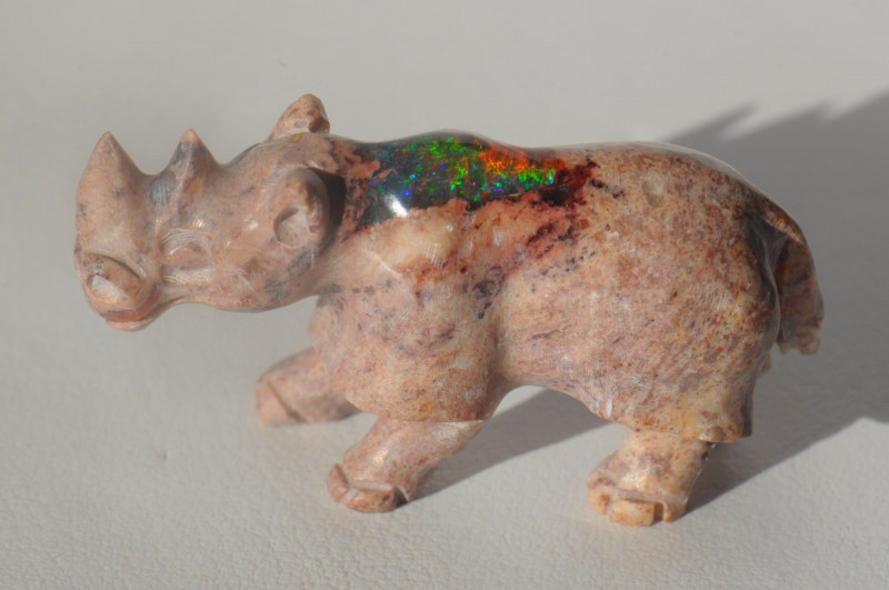 46.27ct Mexican Cantera Multicoloured Opal