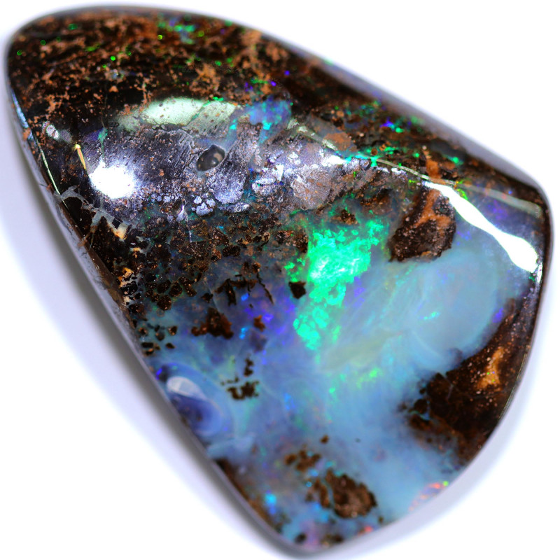 91.15 CTS BOULDER OPAL STONE FROM WINTON  [BMA8393]