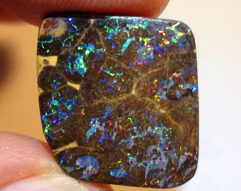 11.40 ct $1 NR Stunning Koroit Boulder Opal Matrix With Gem Multi Color