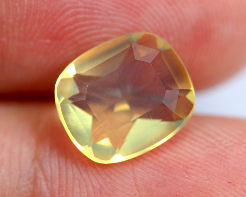1.82cts Natural Brazil Yellow Fire Opal /15S198