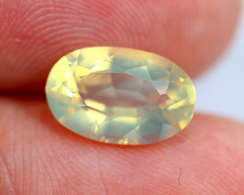 1.87cts Natural Brazil Yellow Fire Opal /15S200