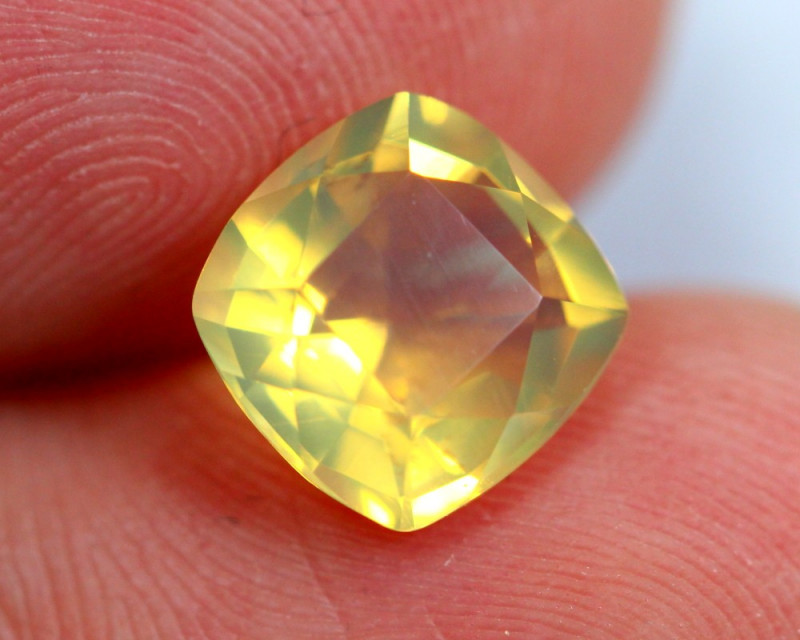 1.57cts Natural Brazil Yellow Fire Opal /15S201