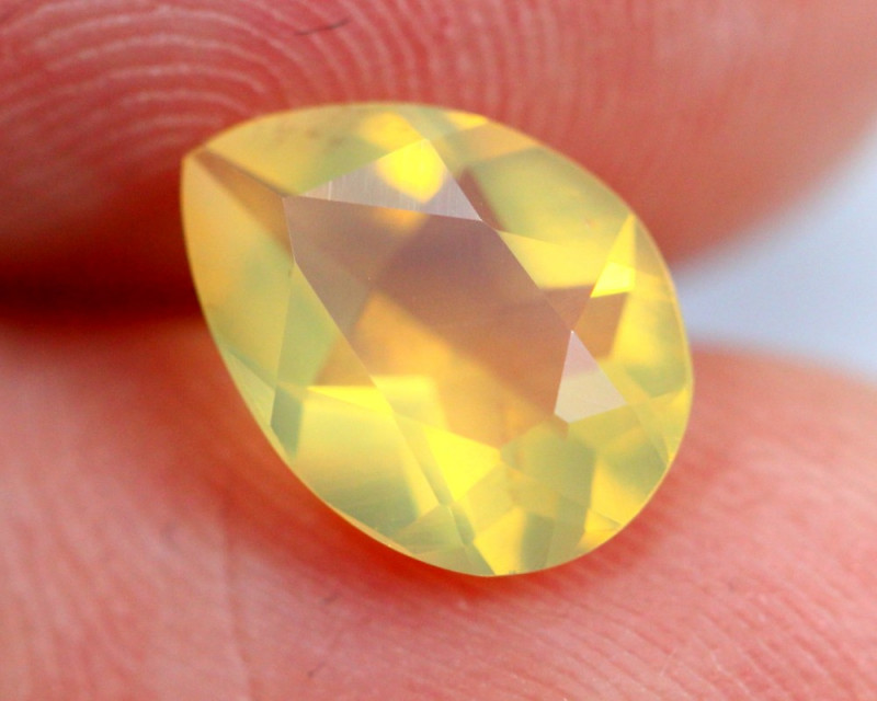 1.08cts Natural Brazil Yellow Fire Opal /15S203