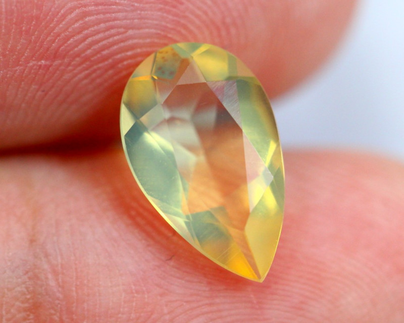 1.50cts Natural Brazil Yellow Fire Opal /15S204