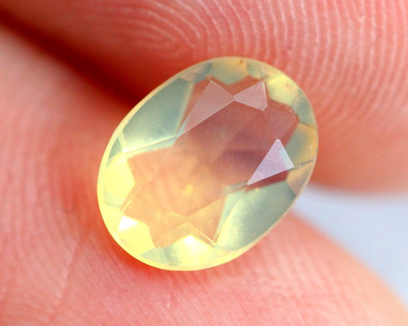 0.91cts Natural Brazil Yellow Fire Opal /15S205