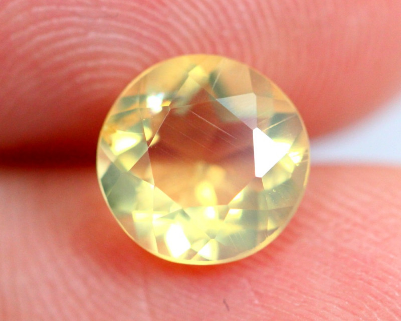 1.04cts Natural Brazil Yellow Fire Opal /15S216