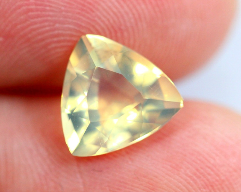 1.66cts Natural Brazil Yellow Fire Opal /15S218