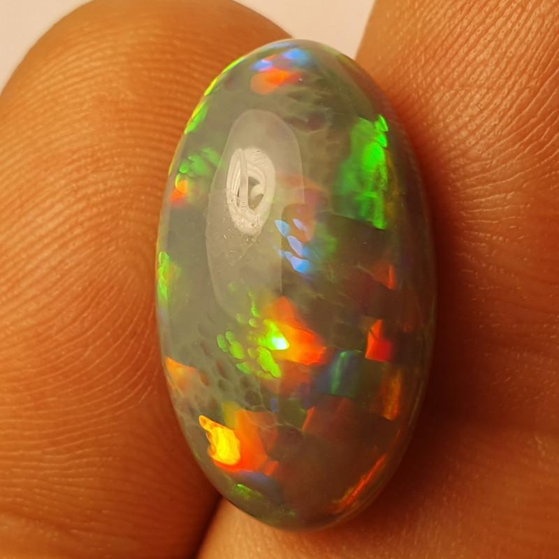 7.5ct  Beautiful Blazing Welo Solid Opal