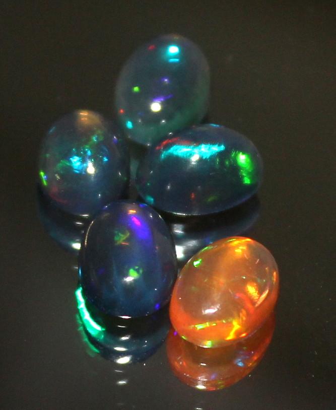 2.60 Crt Natural Ethiopian Welo Smoked Opal Lot 313