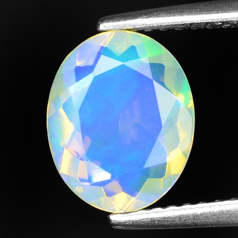 1.30 Cts Very Rare Natural Ethiopian Opal Loose Gemstone