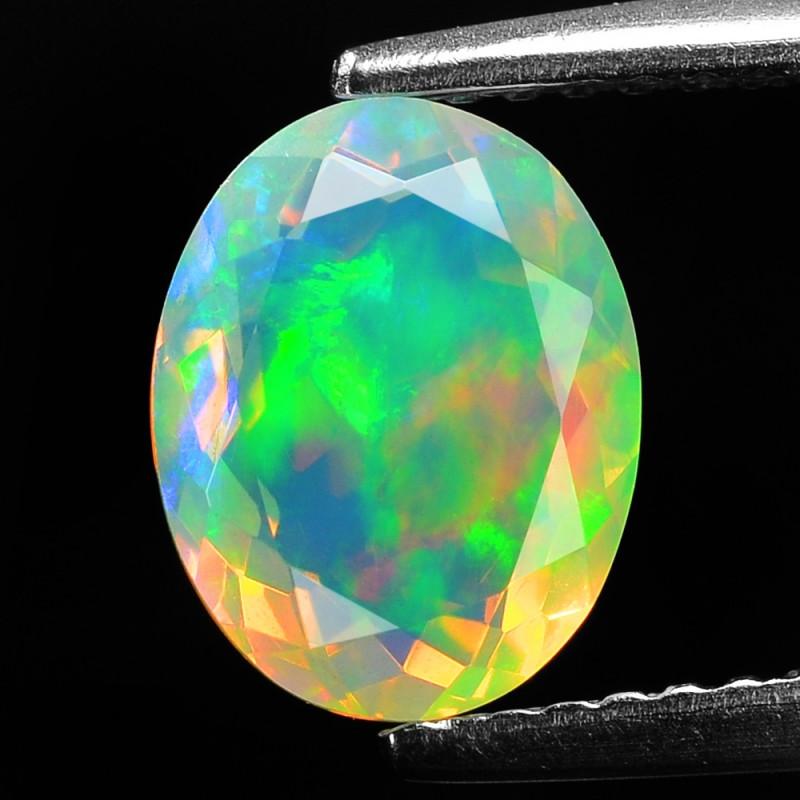 1.29 Cts Very Rare Natural Ethiopian Opal Loose Gemstone
