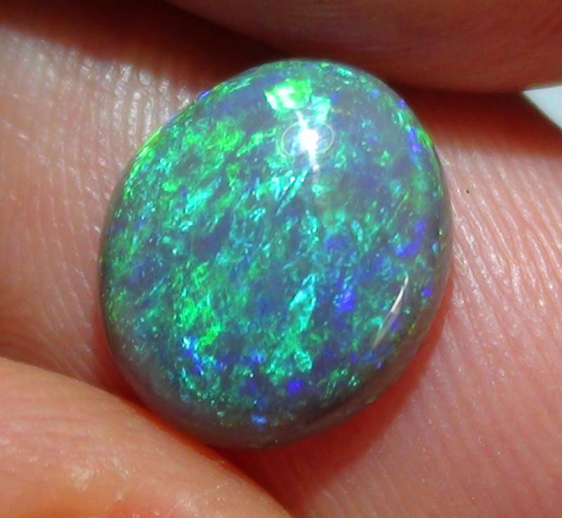 1.80 Gem Blue Green Color Lightning Ridge Opal