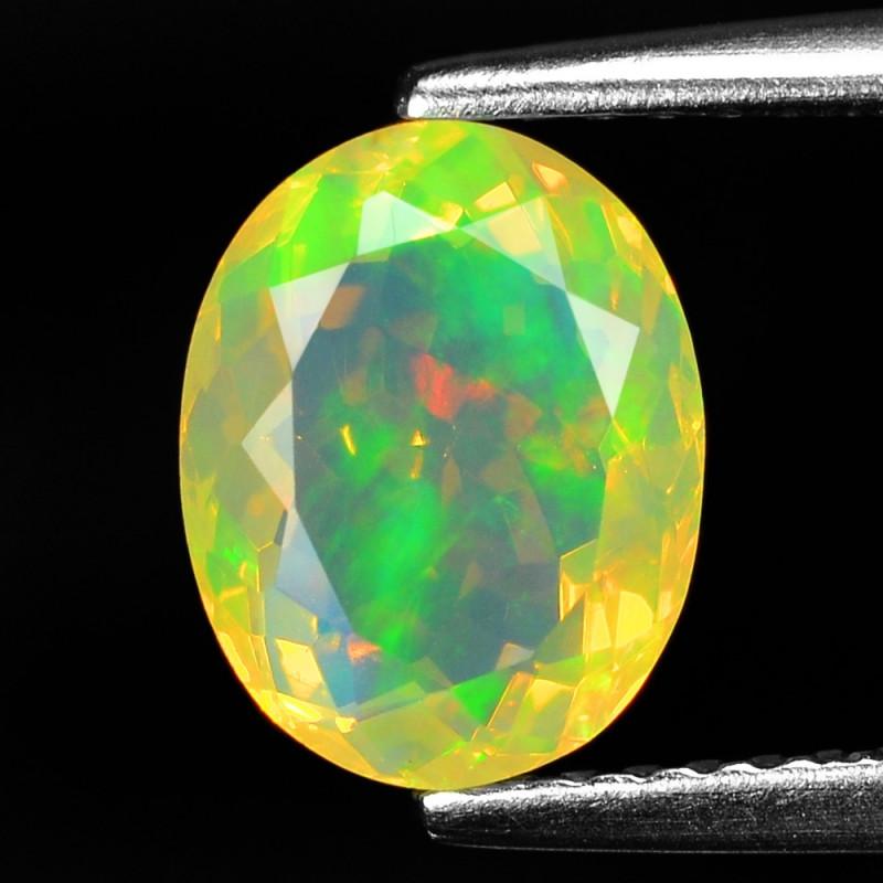 1.41 Cts Very Rare Natural Ethiopian Opal Loose Gemstone