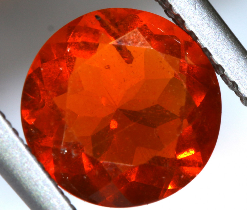 1.37- CTS MEXICAN FIRE OPAL  FACETED STONE   FOB-1902