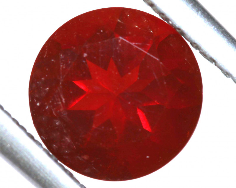 1.10 - CTS MEXICAN FIRE OPAL  FACETED STONE   FOB-1943