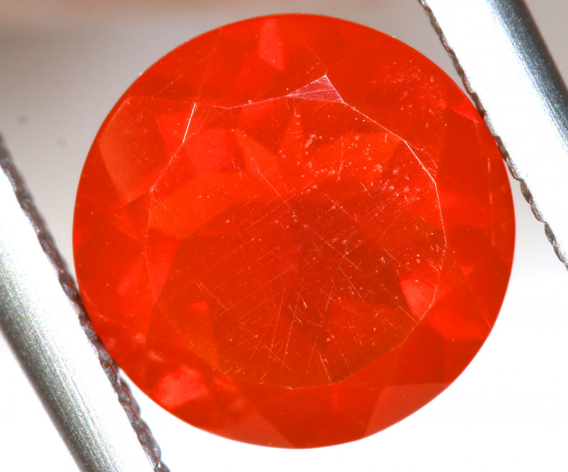 1.09 - CTS MEXICAN FIRE OPAL  FACETED STONE   FOB-1960