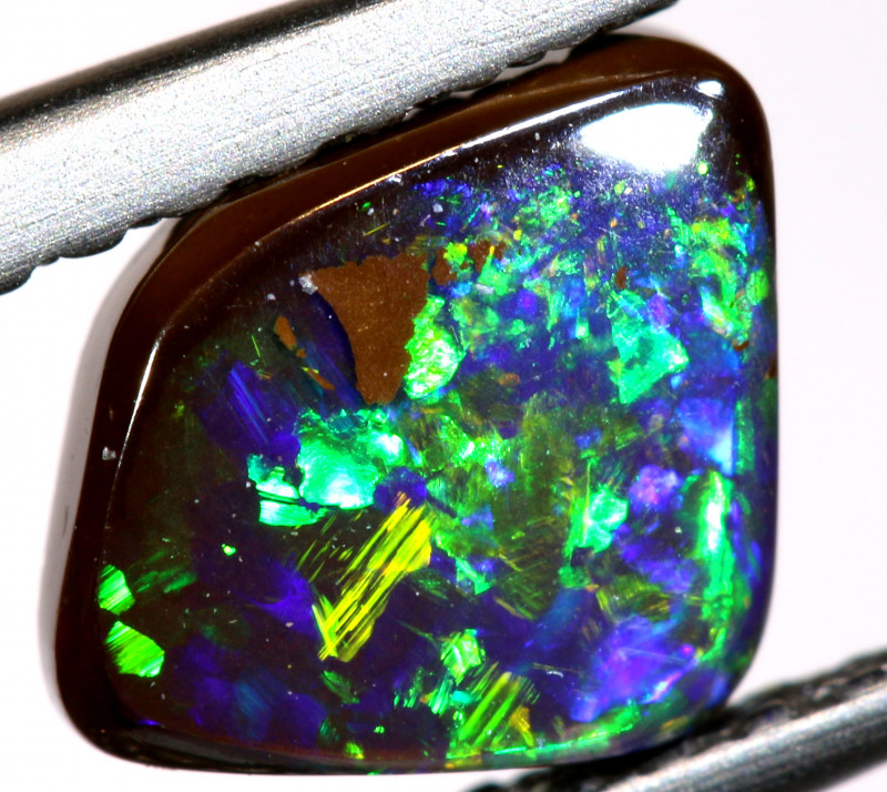 0.85 CTS BOULDER OPAL STONE FROM WINTON  [BMG116 ]