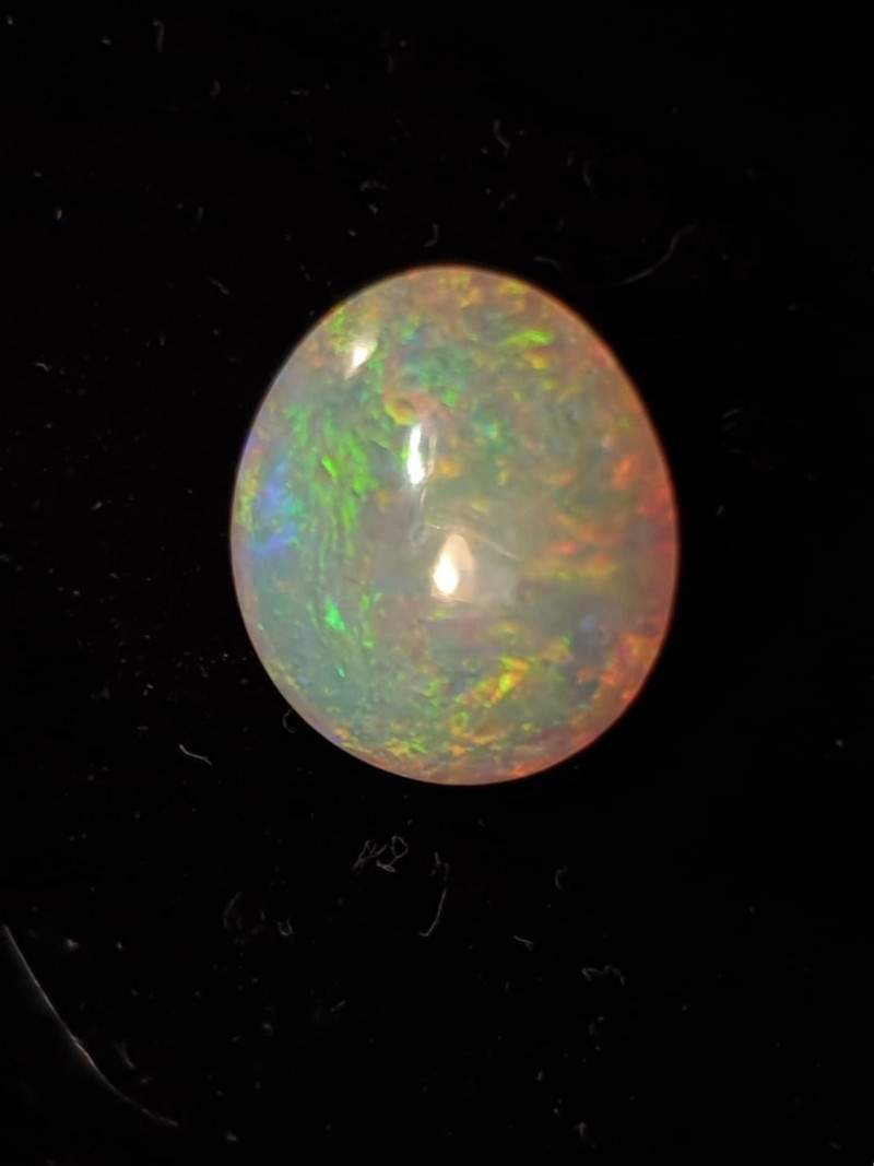 2.85cts LIGHTNING RIDGE CRYSTAL OPAL