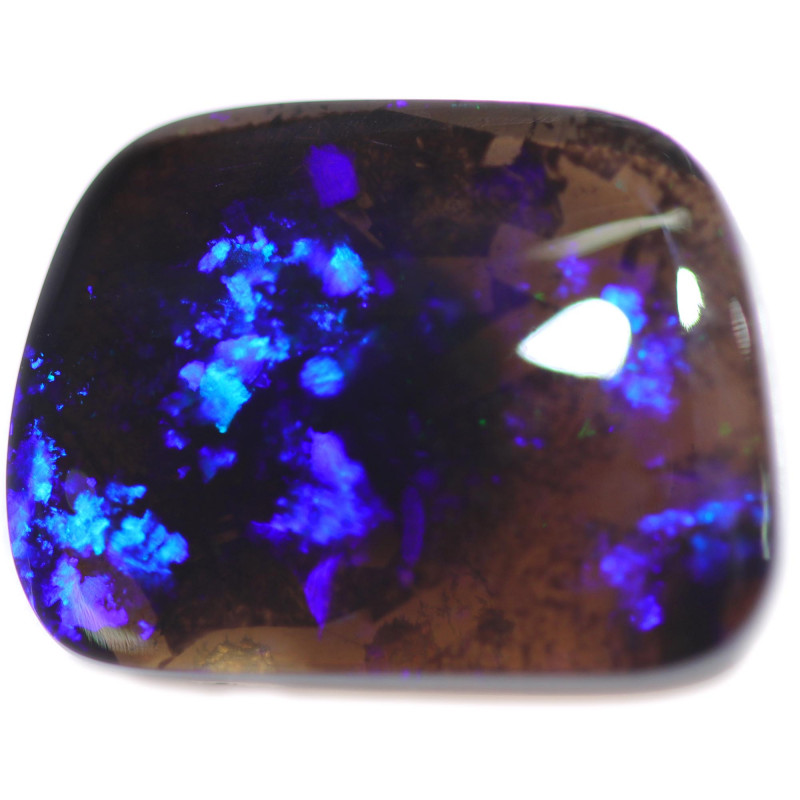 11.47 CTS BLACK OPAL STONE -LIGHTNING RIDGE- [LRO726]