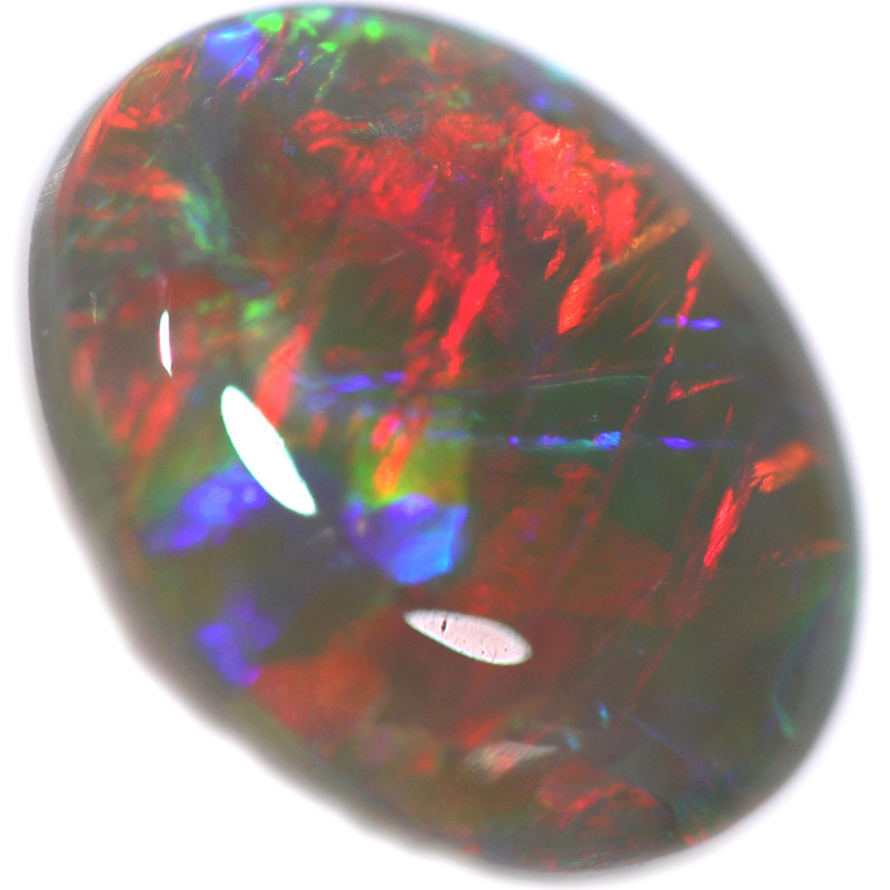 1.56 CTS  SOLID OPAL POLISHED LIGHTNING RIDGE [LRO728]