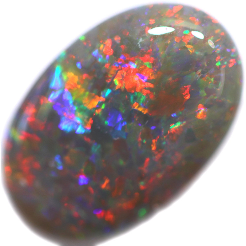2.31 CTS  SOLID OPAL POLISHED LIGHTNING RIDGE [LRO735]