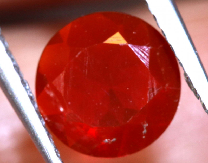 0.69  CTS MEXICAN FIRE OPAL  FACETED STONE   FOB-1965