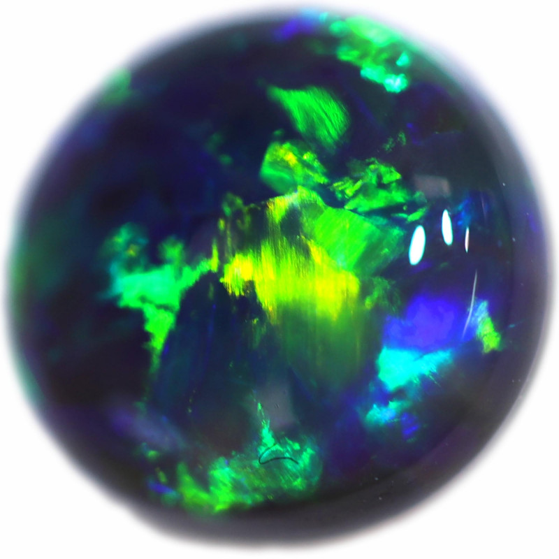 0.880 CTS BLACK OPAL STONE -LIGHTNING RIDGE- [LRO697]