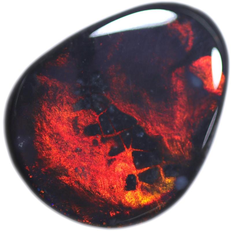 10.008 CTS BLACK OPAL STONE -LIGHTNING RIDGE- [LRO704]