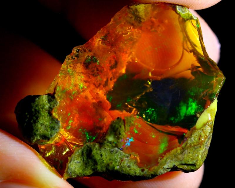 26cts Ethiopian Crystal Rough Specimen Rough / CR95